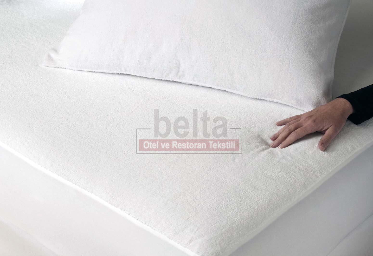 havlu kumaş yatak koruyucu